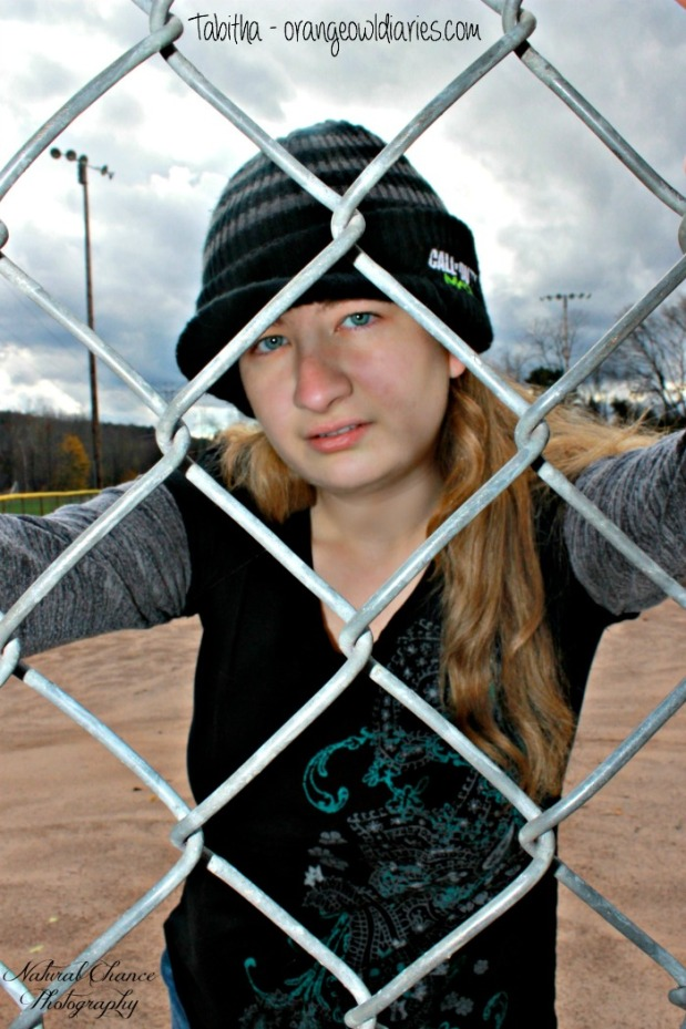 tabitha baseball park photoshoot