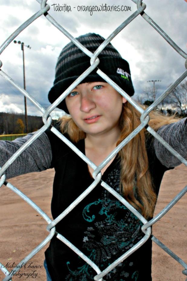 tabitha baseball park photoshoot