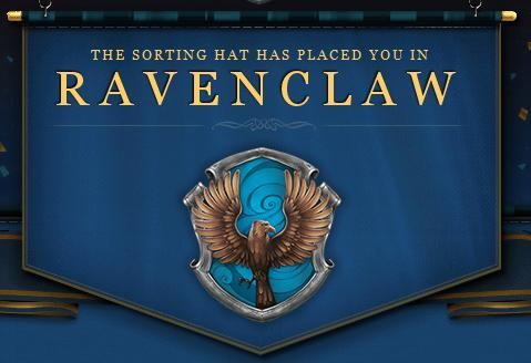 ravenclaw pottermore banner