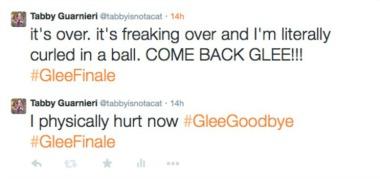 glee tweets 2