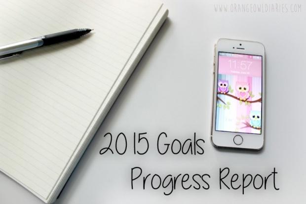 2015 goals progress