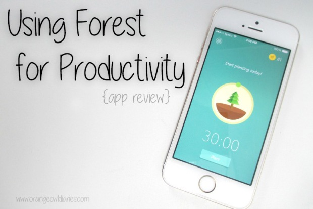 forest iPhone app review