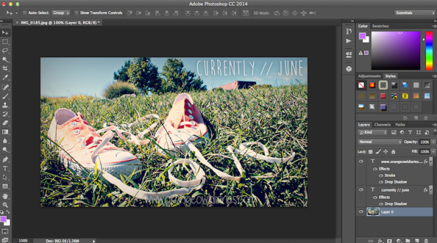 photoshop screenshot
