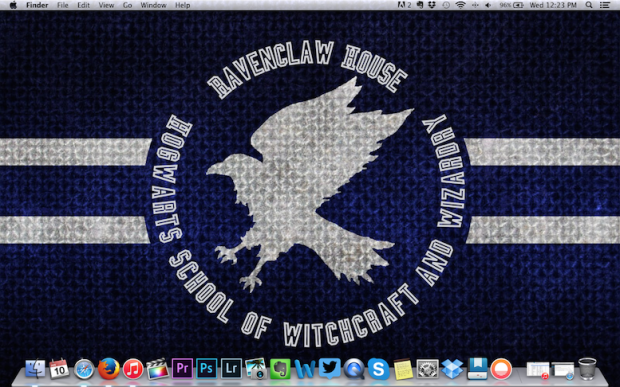 Ravenclaw macbook pro background