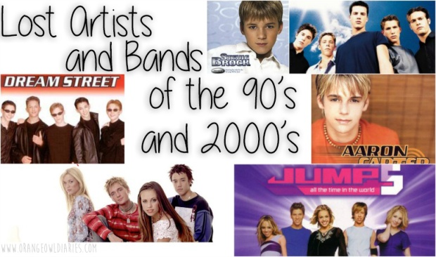 artists bands 90s