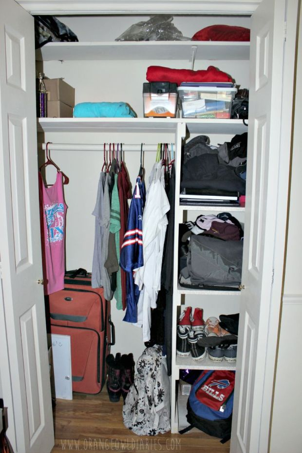 closet room tour