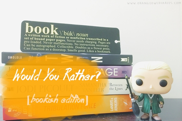 would you rather books