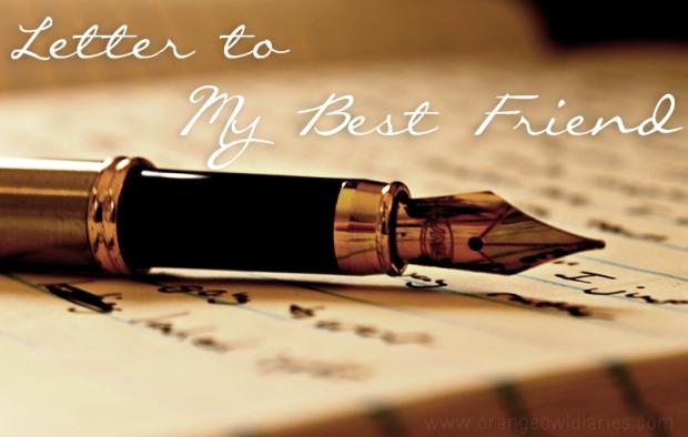 best friend open letter